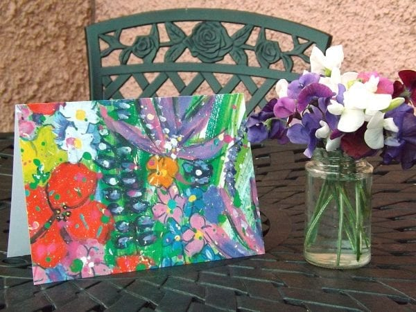 Wild Flowers Greetings Card