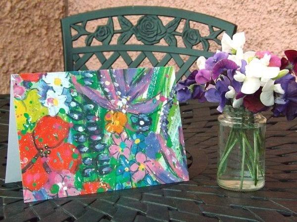 Wild Flowers Greetings Card