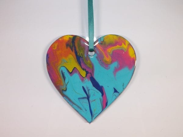 Aqua Spray Heart
