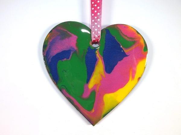 Blancmange Heart